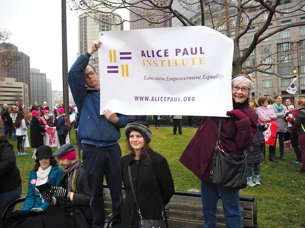 January, 2017, Women's March on Philadelphia