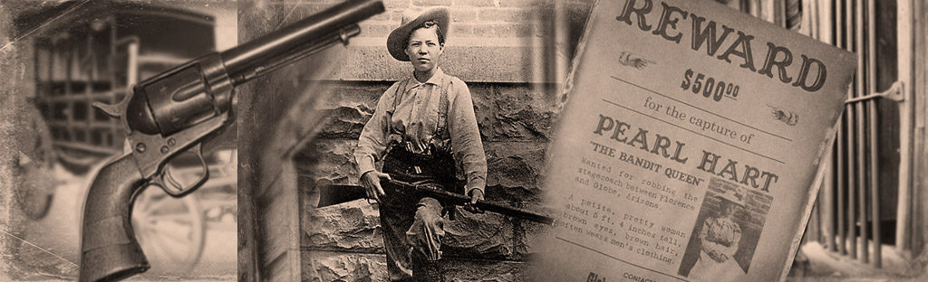 Pearl Hart, Arizona stage robber