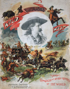 Buffalo Bill Cody's Wild West Show poster