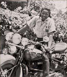 Pioneering motorcyclist Bessie Stringfield